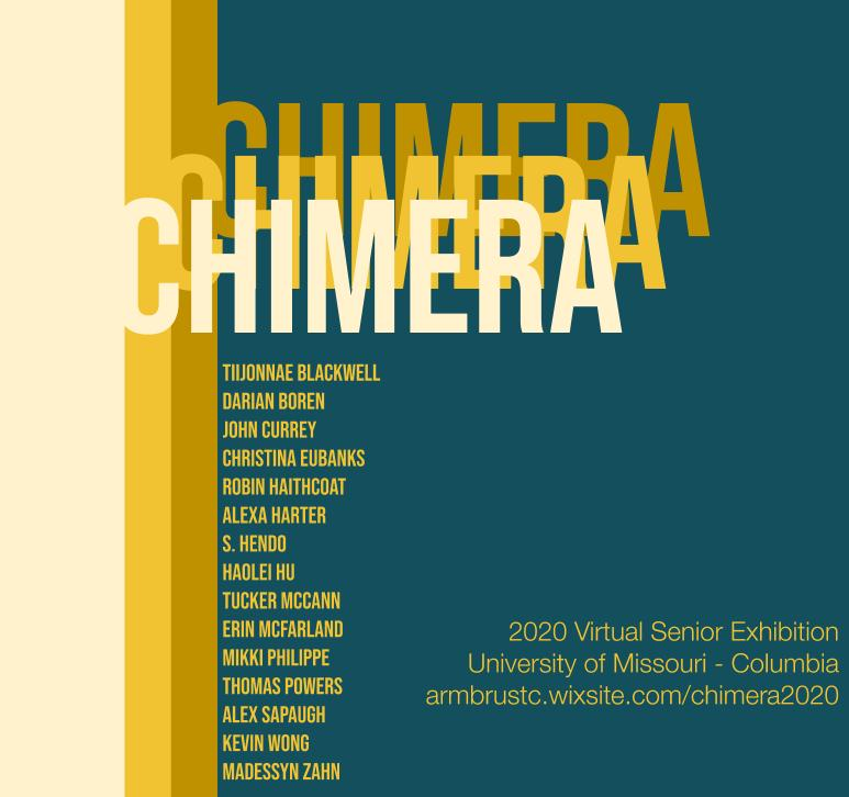 Chimera: 2020 Senior Exhibition
