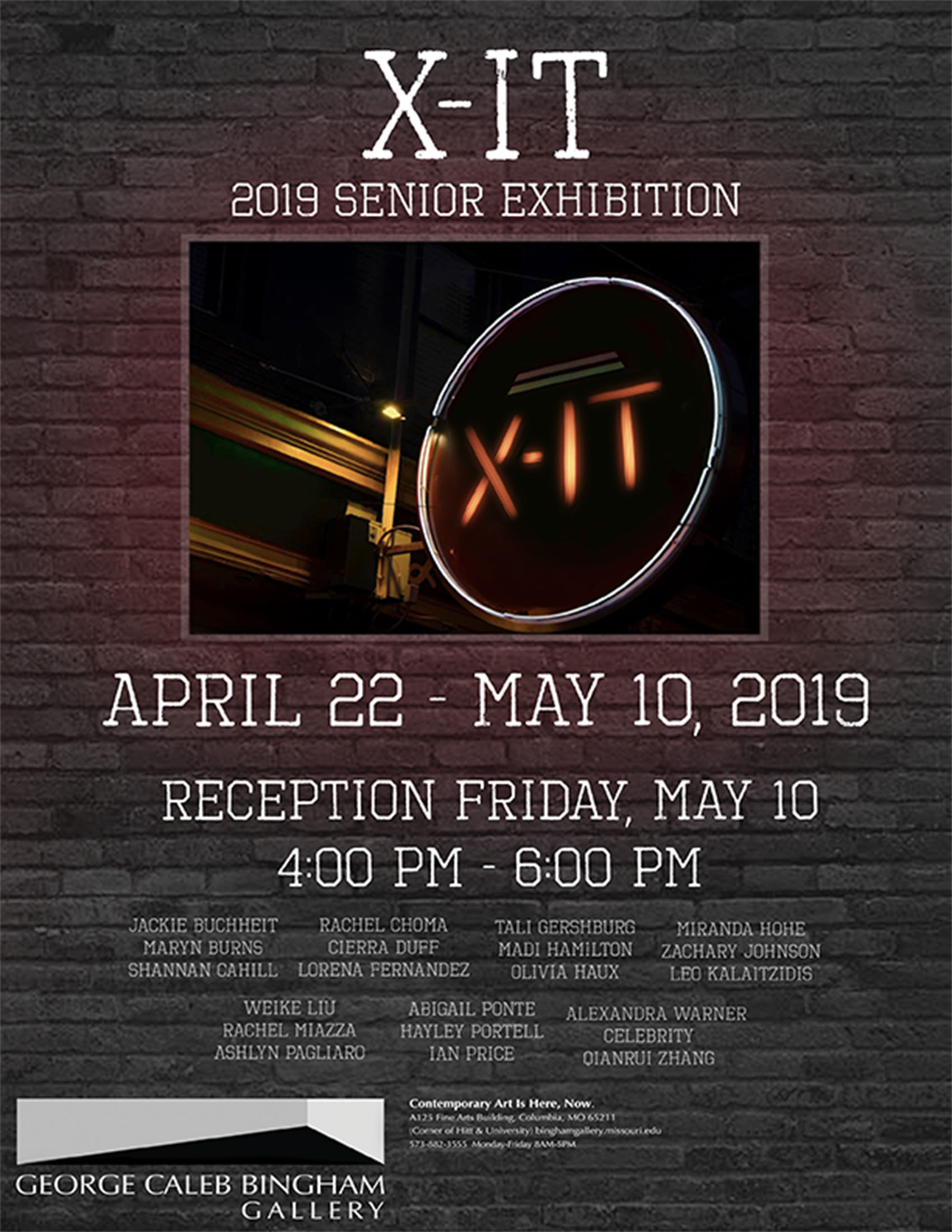 X-IT: Senior Showcase 2019